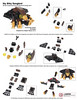 Itty Bitty Songbird Instructions (Imagine™) Tags: lego mini micro plushie instructions songbird moc 2016 bioshock brickworld imaginerigney brickworldmaster