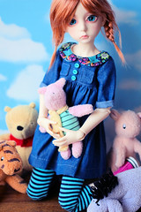 Fashion Friday - 24th June 2016 (Lucy-Loves?) Tags: doll olive bjd ganga dollstown fashionfriday dollstown7 thelittlecupboard decifashion