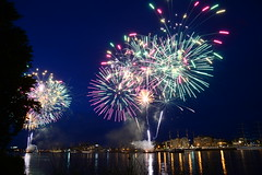 Tall Shi's Race DST_5032 (larry_antwerp) Tags: 2016 antwerp antwerpen       port        belgium belgi          schip ship vessel        schelde        sailing tallship vuurwerk fireworks tallshipsrace