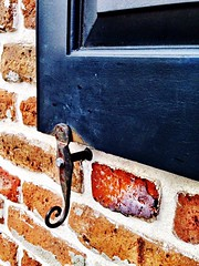 Shutters Brick Wall Latch Vintage Colonial Style Charleston SC at Charleston, SC (gbhartphoto1) Tags: vintage brickwall shutters charlestonsc latch colonialstyle