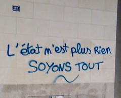 IMG_20160428_211734 (Cocomilie) Tags: wall graffiti anarchism nantes manifestation loitravail