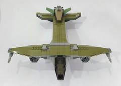 VF-13a Pteranodon & the drone, VF-13b Sordes (2 in 1) (Hendri Kamaluddin) Tags: lego moc plane fighterplane airplane aircraft airship fantasyplane sky skyfi squadron victorysquadron airforce
