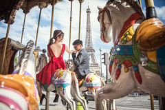 [somewhere in Paris] Carousel (pooldodo) Tags: wedding prewedding carousel paris pooldodo taotzuchang oversea europe french