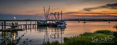 _DSC2687 (Brendan Wright Photography) Tags: southcarolina beaufort portroyal sunset water shrimpboats