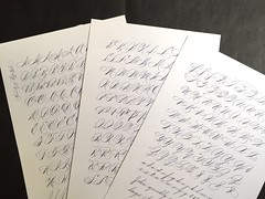 IMG_4507 (xelo garrigs) Tags: caligrafa calligrafia calligraphy pointedpen spencerian penmanship ornamentalscript