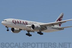 A7-BBD (SoCalSpotters) Tags: a7bbd b772 qtr lax klax socalspotters qatarairways losangeles boeing777