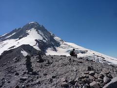 Garrett on top of Cooper Spur (mmcg6302) Tags: mount hood oregon cooper spur hiking