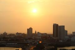 Cartagena de Indias,  La Herica (jos_bon7) Tags: life new city sunset sun history beauty colombia view silouette cartagena