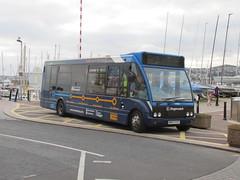 47535, Victoria Parade, Torquay, 18/02/15 (aecregent) Tags: 33 solo torquay victoriaparade optare 47535 180215 stagecoachsouthwest wa57fxt