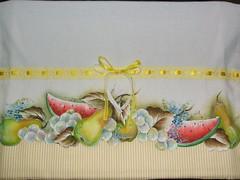 frutas recorte (LID ARTS) Tags: de em prato panos pintura tecido