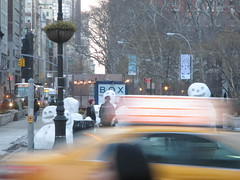 Snow Monsters Attacking the Flatiron District 2015 NYC 9036 (Brechtbug) Tags: life park new york city nyc autumn sculpture snow man building men fall weather square landscape march snowman downtown humorous artist manhattan district parks pedestrian peter madison snowmen future reality commuter series monsters 12 marble met 9th hacking flatiron futuristic twelve called attacking within provide diversion routine interventions wintry spooks 2015 interrupt regli 03092015