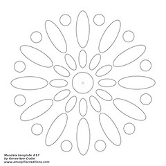 Mandala template 17 (Amaryllis Creations) Tags: mandala zentangle zendala