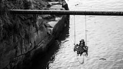 Seaton Sluice Doll 1 (Northern Kev) Tags: sea nikon doll swing creepy northumberland horror 55200 seatonsluice d3200