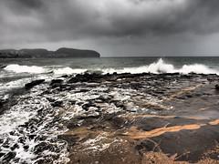 Cala de l'Andrag (Moraira) (monsalo) Tags: mar mediterraneo tormenta moraira monsalo