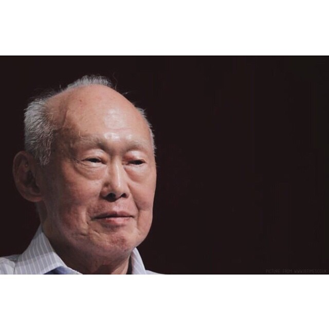 """I am not here to play somebody elses game. I have a few million peoples lives to account for. #Singapore will survive."" -Lee Kuan Yew    Our heart goes out to #Singapore & the #family of this #great #leader who #inspired many. #RIPleekuanyew"