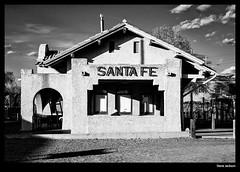 Santa Fe Depot (stvjackson) Tags: railroad newmexico santafe nikon depot railroadstation railroaddepot nikond700 nikon2470mmf28