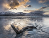 Lofoten-03- 19th March 2015 (jerry_lake) Tags: sunset norway reflections driftwood d610 nikon2470mmf28 lee06ndgradhard lightroom57