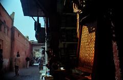 Golden hour (Stephen Dowling) Tags: travel film 35mm morocco m42 marrakech smctakumar2835 kodakektar100 pentaxesii