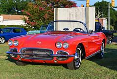 Vette (Thumpr455) Tags: auto show red chevrolet car nikon automobile southcarolina july convertible chevy fourthofjuly corvette vette d800 2014 williamston worldcars afnikkor3570mmf28d