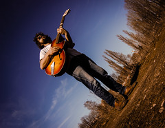 Bastian (Stephan No) Tags: sunglasses guitar m42 mrz basti gitarre ostkreuz 2014 framus rummelsburgerbucht zenitar16mmf28 kaletta