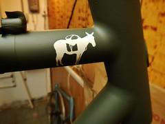 """El Burro"" Teaser (guidedbybicycle) Tags: bike bicycle paint handmade steel el made burro american frame custom touring built capricorn framebuilder"