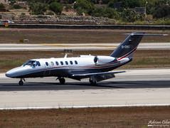 Private --- Cessna 525B Citation CJ3 --- D-CHIO (Drinu C) Tags: plane private aircraft aviation sony dsc cessna citation mla bizjet privatejet cj3 525b lmml hx100v dchio adrianciliaphotography