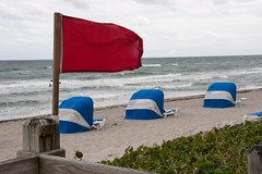 IMG_3404 High Hazard, Red Flag (EJK41) Tags: beach high surf florida redflag highsurf floridabeach strongcurrents strongwinds redflagwarning highhazard