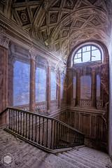 Palazzo di L. dei Conti M. (Urbex Diary) Tags: urban abandoned decay exploring palace eerie haunted spooky explore forgotten exploration derelict hdr ue urbex