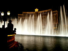 Water show, Bellagio