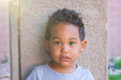 Just Me (byPinky) Tags: boy arizona canon children kid toddler child african pillar american