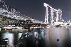 Helix Bridge Singapore (tobias-d) Tags: bridge marina bay singapore helix sands singapur mbs
