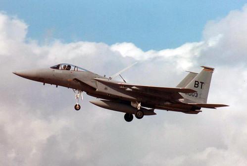 McDonnell Douglas F-15C Eagle 84-0003- USAF 53rd TFS - RAF Lakenheath 1989