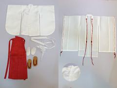 Oceanmoon Miko HaNee special limited set (<EndlessSpectrum>) Tags: girl set clothing shrine doll princess sale traditional yukata kimono bjd miko oriental limited hime cultural fs 50cm oceanmoon zaoll