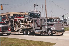 Marmon at the port (PAcarhauler) Tags: tractor truck semi trailer carcarrier marmon
