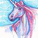 Unicorn drawing 2015