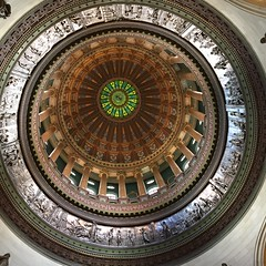 "The Illinois State Capitol Dome • <a style=""font-size:0.8em;"" href=""http://www.flickr.com/photos/109120354@N07/26514875853/"" target=""_blank"">View on Flickr</a>"