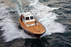 Malaga pilot boat 1 (PhillMono) Tags: voyage cruise speed boat spain nikon ship harbour wave vessel bow arrival dslr departure malaga pilot practicos d7100