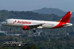 N281AV (Hector A Rivera Valentin) Tags: cn airport marin international airbus luis a320 sju 214 spotter avianca 4281 muos tjsj n281av