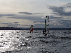 12h - May 27, 2016 - wind surfers at Browns Point (kazuhikogriffin) Tags: windsurfers brownspoint