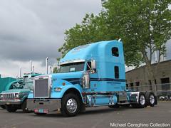 Gordon Trucking Inc. Freightliner Classic XL, Truck #37 (Michael Cereghino (Avsfan118)) Tags: 2005 classic truck semi american gordon historical gti society xl inc trucking sleeper 2016 freightliner aths
