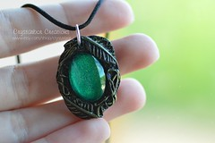 Elven Leaf Woodland Necklace   Lord of the Ring jewelry   Woodland Enchanted Botanical Elf Green Pendant Polymer Clay   Crystarbor (Crystarbor creations) Tags: nature woodland botanical necklace leaf handmade craft jewelry elf polymerclay fimo lotr fantasy lordoftherings celtic etsy magical pendant treeoflife elven handmadenecklace etsyshop etsyseller leafnecklace polymerclaycharms crystarbor evenbrooch crystarbocreations