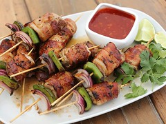 Be the host with the most. BBQ up some pork tenderloin skewers wrapped in bacon. #Yum! https://t.co/uEXUDB5W7X (farmerjohnla) Tags: la losangeles bacon yum pork foodies skewers farmerjohn porktenderloin laeats lafoodie thebaconparty eatsla farmerjohnla