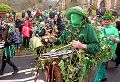 Drummer (melita_dennett) Tags: old england man green english history church festival jack sussex town spring day all traditional may saints folklore east drummer drumming hastings tradition custom mayday beltane 2016
