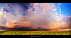 05/10/2016 - Diminishing structured thunderstorm during sunset (panorama) | Ashmore, IL (StormLoverSwin93 | Into the Storm) Tags: sunset sky panorama cloud storm color nature field weather clouds canon landscape outdoors illinois storms stormcloud sunsetsky circularpolarizer supercell 60d canon60d skypanorama canoneos60d stormcloudssunset illinoisthunderstorms stormpanorama thunderstormpanorama supercellsunset