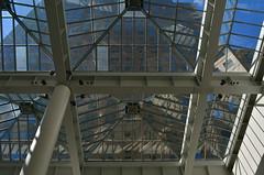 Split Visions (MPnormaleye) Tags: windows urban reflection rooftop glass skyline skylight utata 24mm sunlit refracted