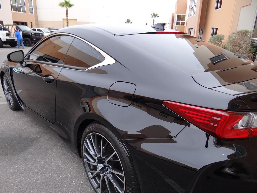 2016 Lexus Rcf 15 Nano Carbon Ceramic Window Film