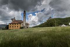 waiting for the storm (Vincenzo Spera Photography) Tags: eos chiesa montagna collina temporale 6d 2470