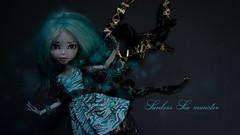 Deep Deep Sea (dancingmorgana) Tags: blue sea monster high doll ooak wig custom sunless repaint reroot lagoona monsterhigh