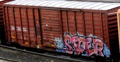 stoer (timetomakethepasta) Tags: stoer stoe cdc freight train graffiti sou boxcar southern
