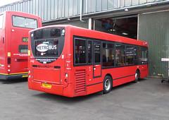 GAL MB 153 - YX60FTY - OSR - BX BEXLEYHEATH BUS GARAGE - SAT 19TH MAR 2016 (Bexleybus) Tags: bus london ahead kent garage go route 200 dennis enviro metrobus tfl 153 bexleyheath adl b14 bx goahead yx60fty